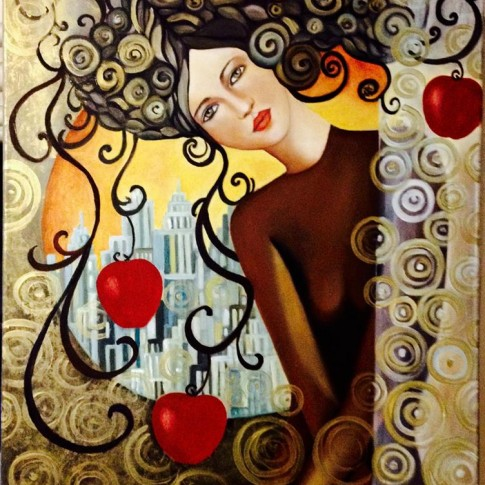Commissiona un quadro a Silvana Martini