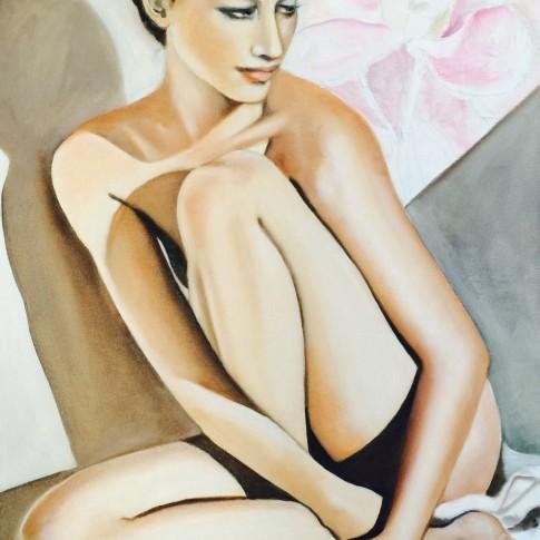 M'incanto, quadro olio su tela © Silvana Martini