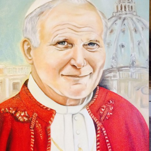Ritratto di Giovanni Paolo II © Silavana Martini