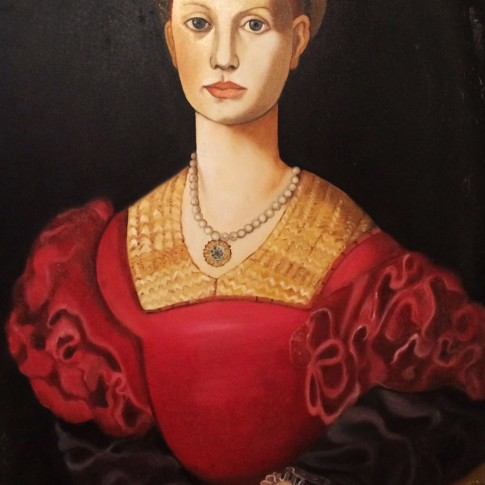Ritratto di Lucrezia Panciatichi, riproduzione © Silvana Martini