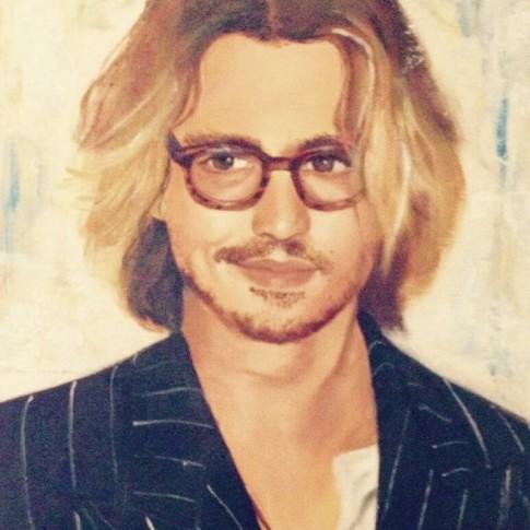 Ritratto di Jonny Depp © Silvana Martini