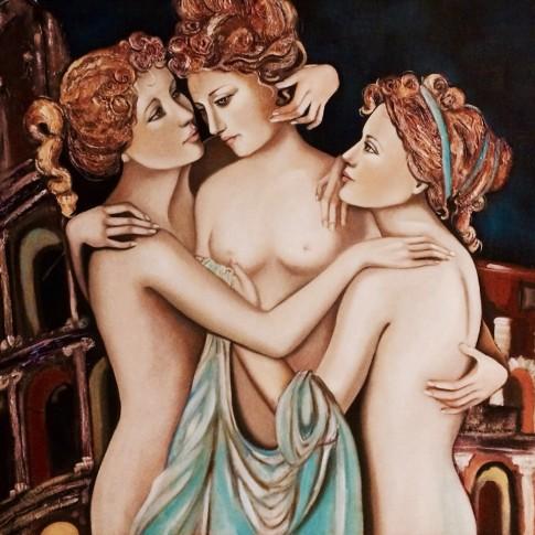 Ancelle greche, Splendore gioia prosperità © Silvana Martini