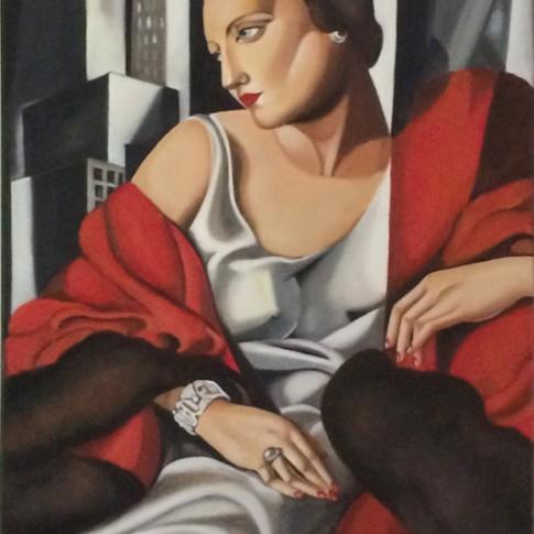 Portrait of Mrs. Boucard, riproduzione © Silvana Martini