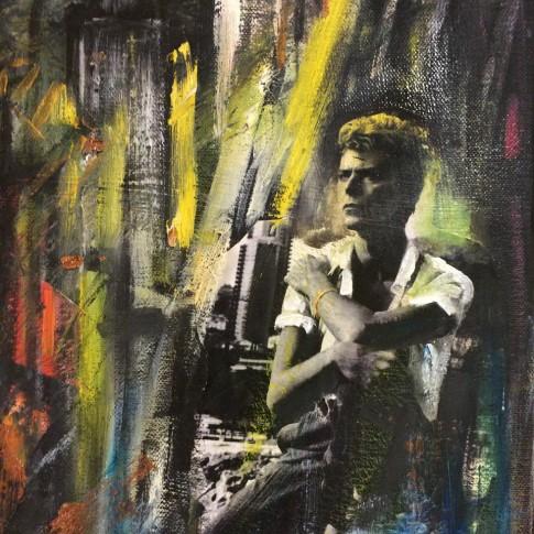 Ritratto di David Bowie © Silvana Martini