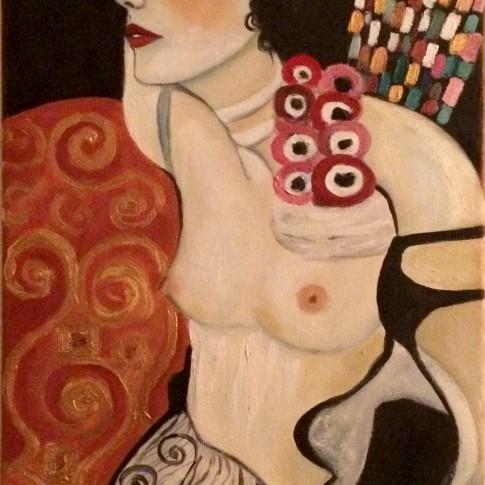 Klimt, Giuditta - riproduzione © Silvana Martini