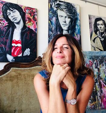 Silvana Martini, pittrice